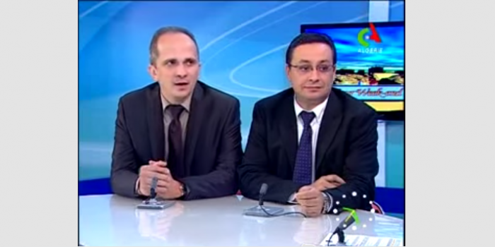 Taha Merghoub, vice president of AASA on Algerian TV
